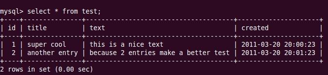 nodejs中文教程-nodejs如何操作mysql数据库