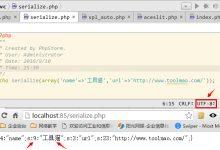 unserialize(): Error at offset出现的原因分析以及解决方法-工具猫