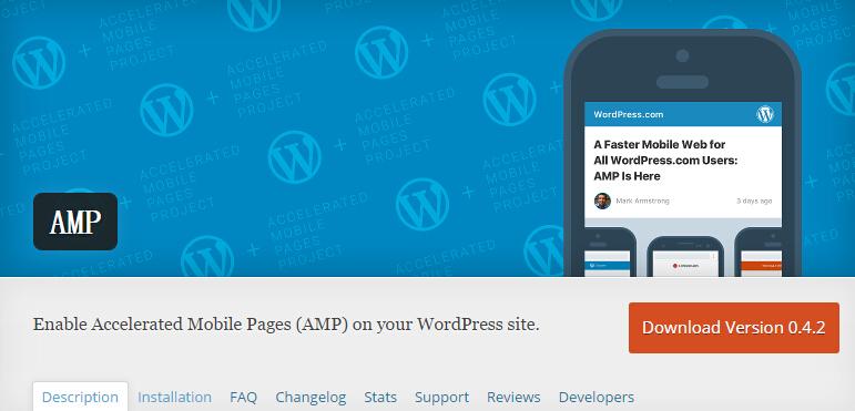用谷歌的AMP给WordPress网站移动页面加速