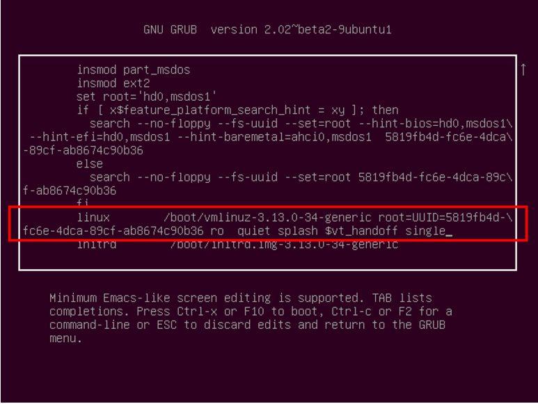 忘记Linux的root密码要怎么重置