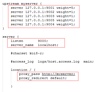 Nginx负载均衡配置,代理到IIS的站点上