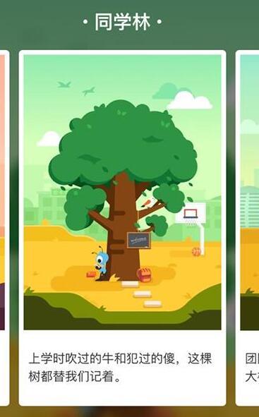 蚂蚁森林-同学林