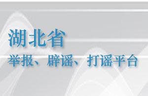 湖北省举报、辟谣、打谣平台